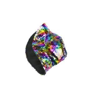 כובע טמבל פייטים כסף - צבעוני