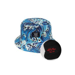 כובע טמבל צורות גלים פסיכדליות
