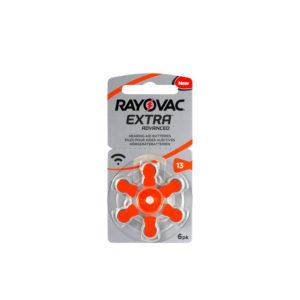 מארז 60 סוללות למכשיר שמיעה - גודל 13 Rayovac