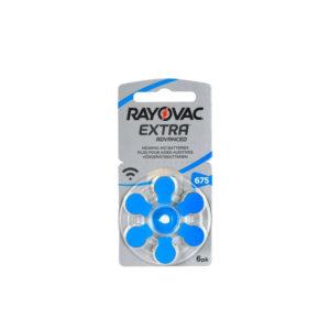 מארז 60 סוללות סוללות לשתל קוכליארי - גודל 675 Rayovac