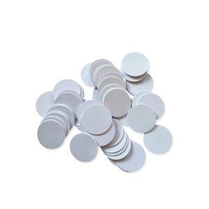 מדבקת NFC פלסטיק קשיח עגול